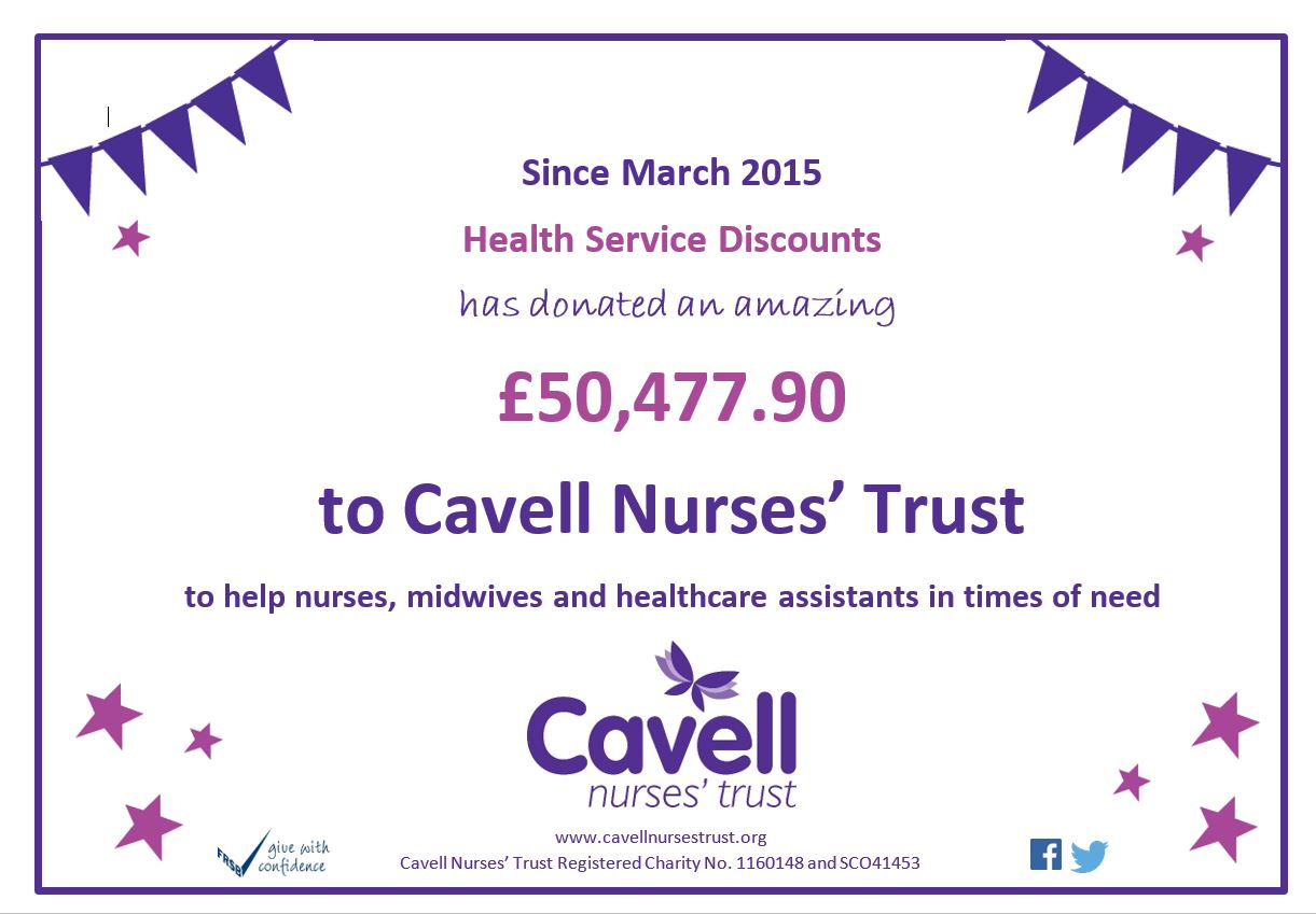 Cavell Donations