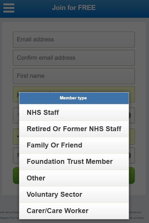 Non-NHS Staff Members