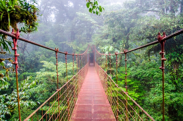 top 5 family holiday destinations Costa Rica